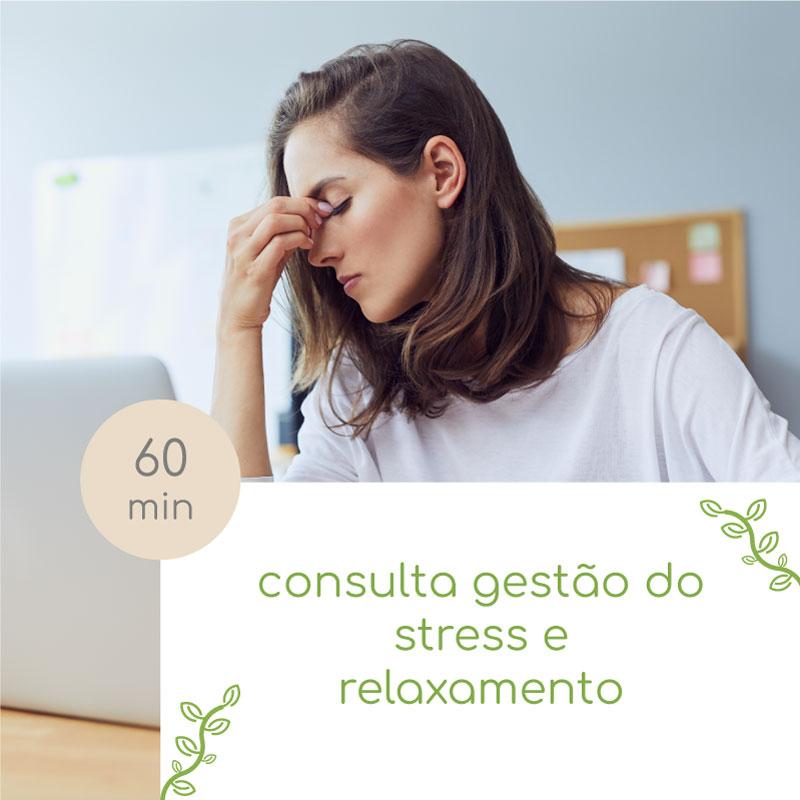 consulta gestão do stress e relaxamento
