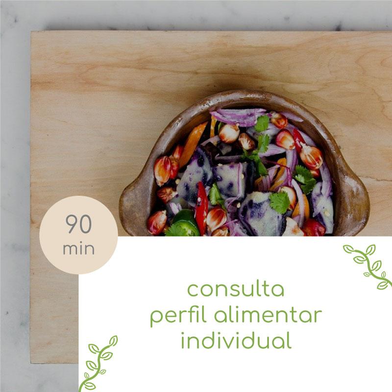 consulta perfil alimentar individual